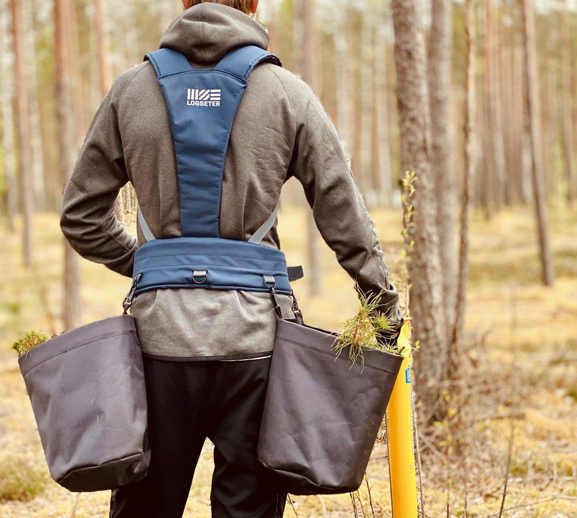 Harvest vest Pro by LOGSETER