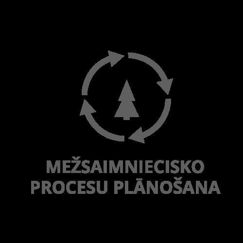 logseter mežsaimniecisko procesu plānošana